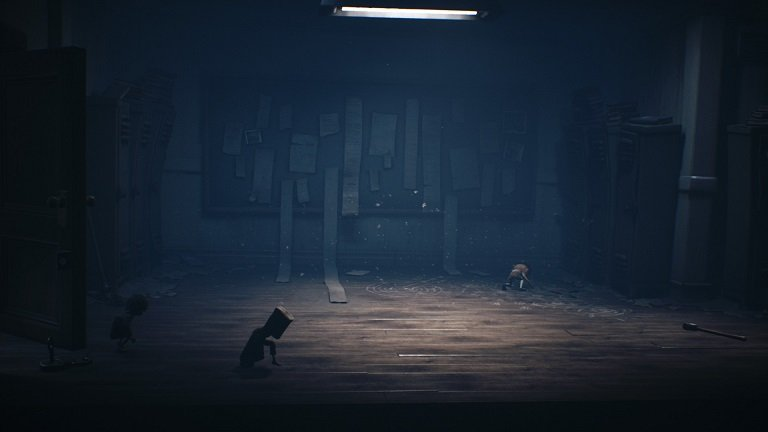 Little Nightmares 2 game guide - Mono and Six are still in the School