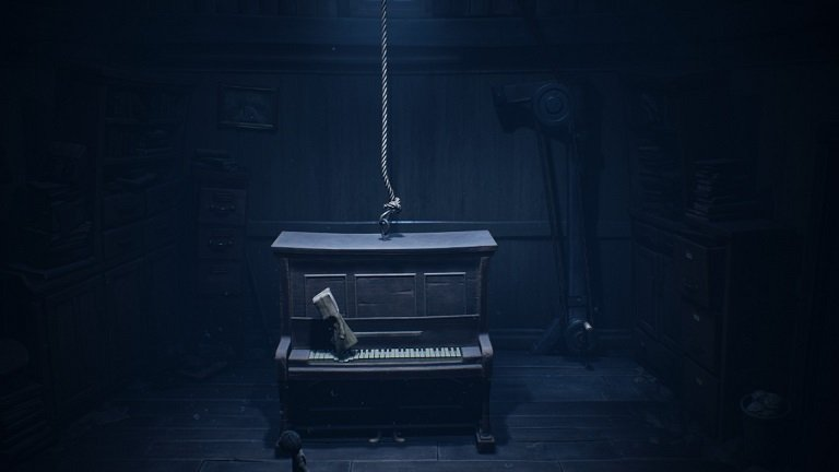 Little Nightmares 2 game guide - Mono lands on the piano
