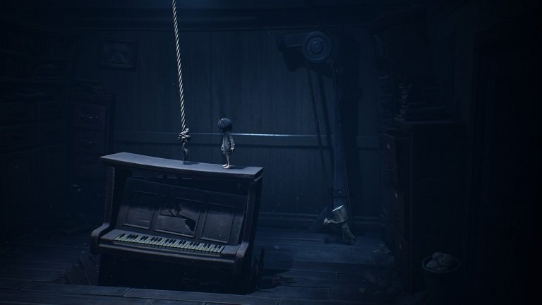 Little Nightmares 2 game guide - Piano crashes on the floor
