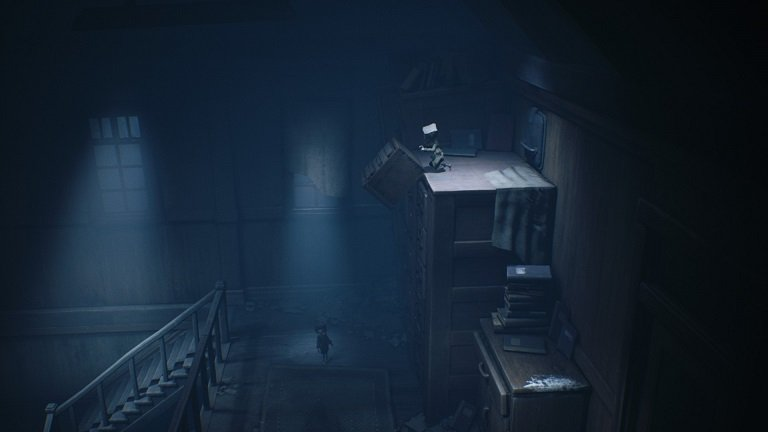 Little Nightmares 2 game guide - Push down a box blocking the vent
