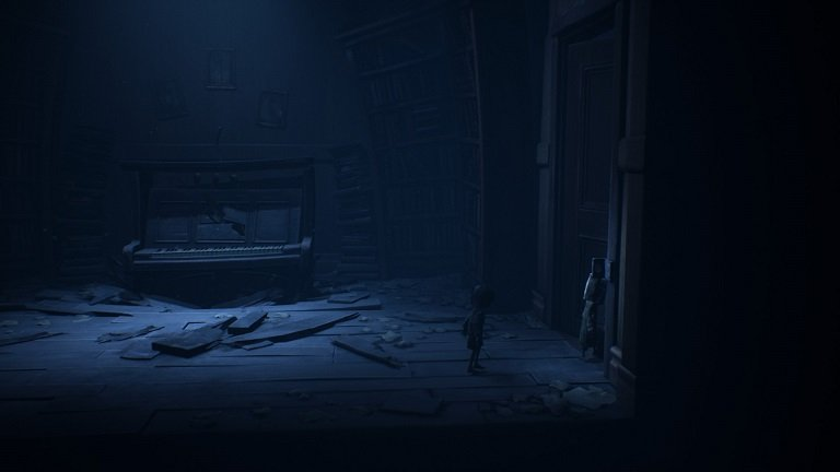 Little Nightmares 2 game guide - Six open the door for Mono with key