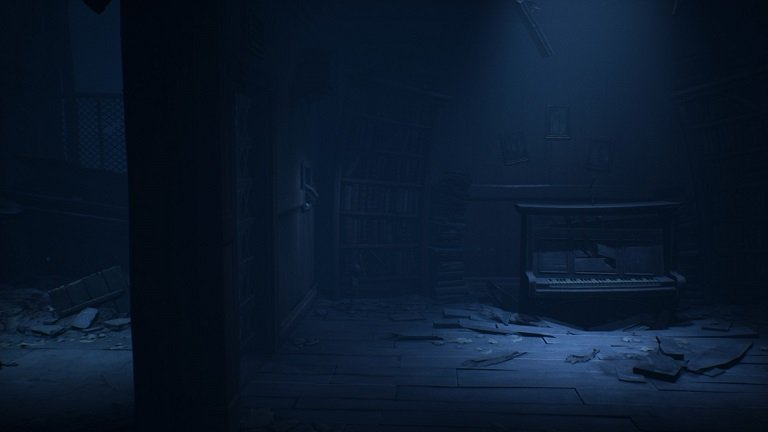 Little Nightmares 2 game guide - There is a small windows in the room