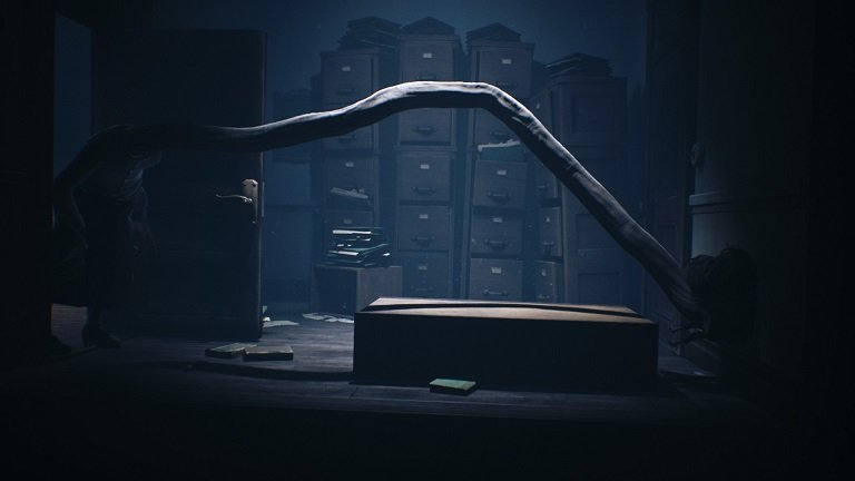 Little Nightmares II Game Guide – Do not hide behind the bookshelf because the teacher will grab you