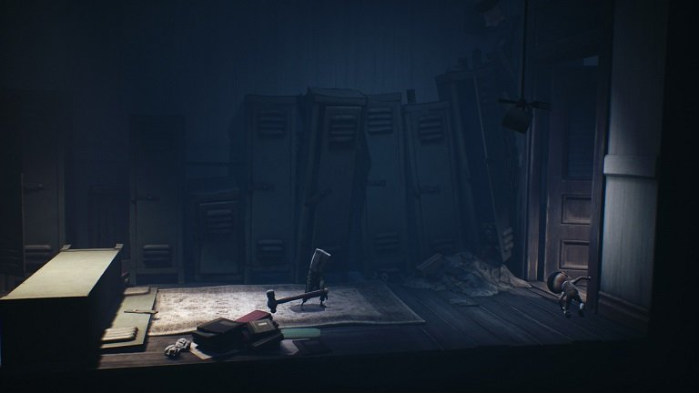 Little Nightmares II Game Guide – Mono picked up a slegdehammer