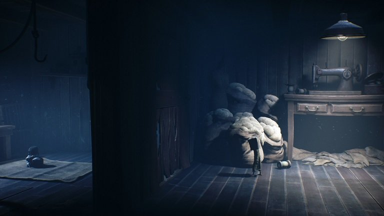 Little Nightmares II Game Guide - After climbing the stairs go left