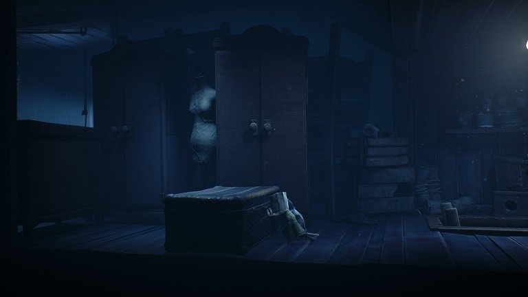 Little Nightmares II Game Guide - Climbed the ladder into the attic - pushing a box