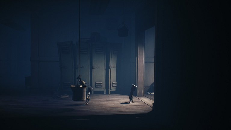 Little Nightmares II Game Guide - Continuing walking in the hallway