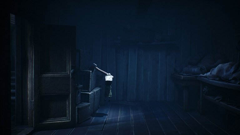 Little Nightmares II Game Guide - Found Axe and grab axe
