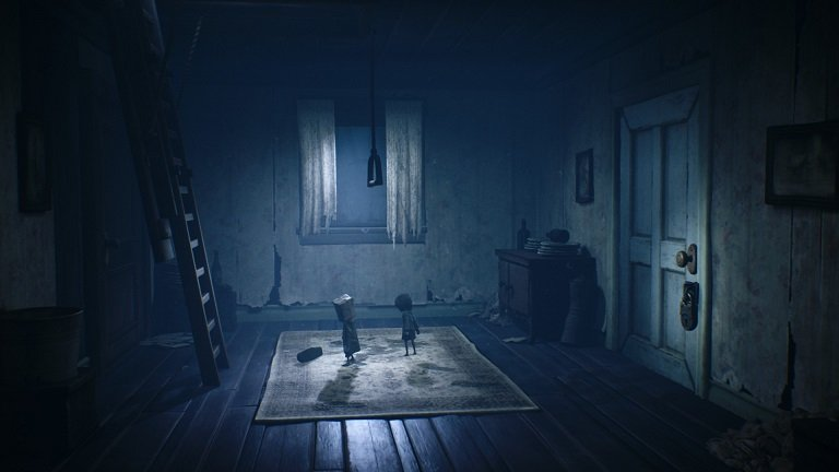 Little Nightmares II Game Guide - Helped the child in pulling the lever