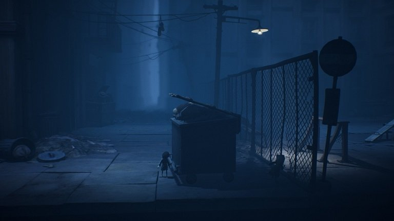 Little Nightmares II Game Guide - Move the dumpster