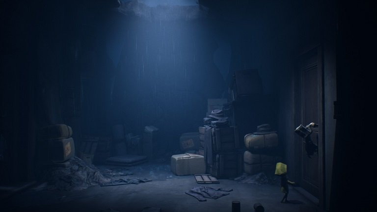Little Nightmares II Game Guide - Pull the door handle to access the next area