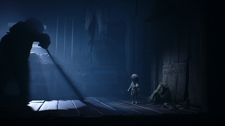 Little Nightmares II Game Guide - Sneak past the person at the table