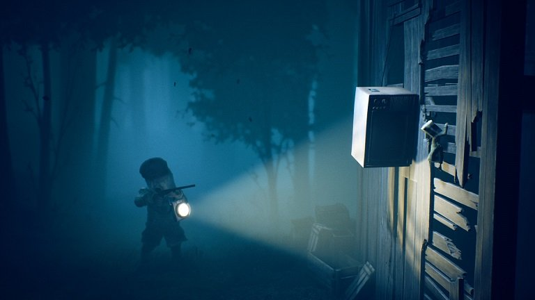 Little Nightmares II Game Guide - The television protects you from the bullet