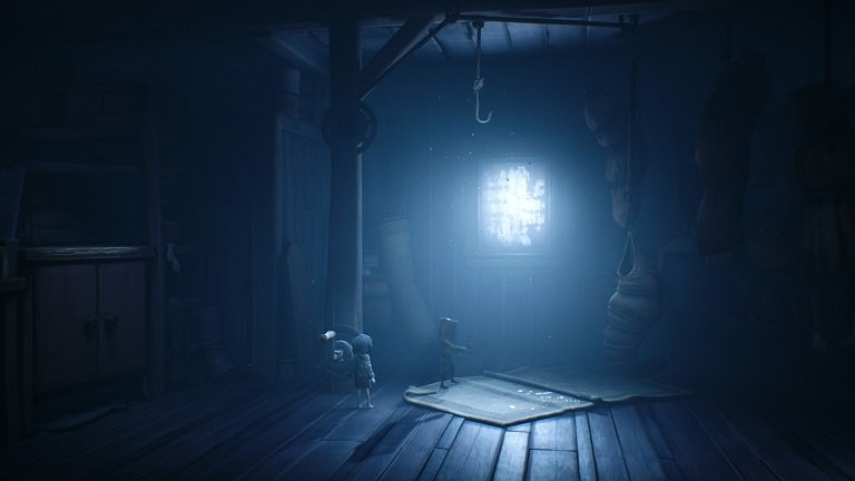 Little Nightmares II Game Guide - There is a body bag attached to the rope