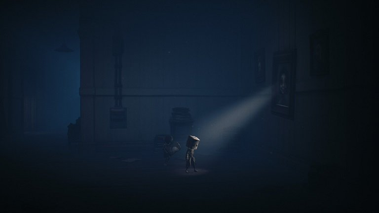 Little Nightmares II Game Guide - There is light behind the paintings