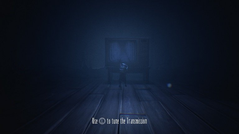 Little Nightmares II Game Guide - Use T to tune the Transmission