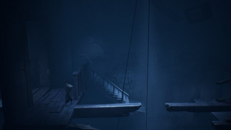 Little Nightmares II Game Guide - Use two wooden ends to build somekind of a bridge