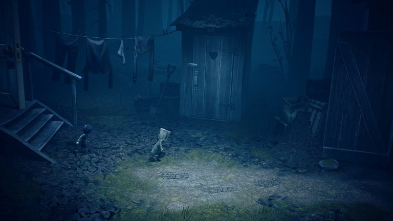 Little Nightmares II Game Guide - Walk to the outhouse door
