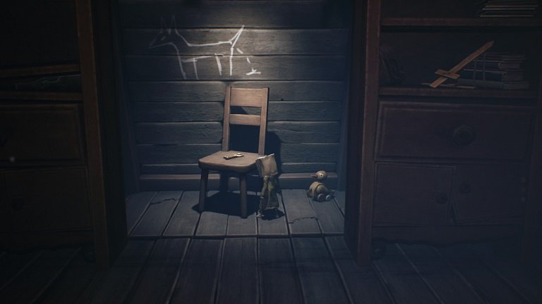 Little Nightmares II Game guide - After putting the chess pieces in place a secret door opens