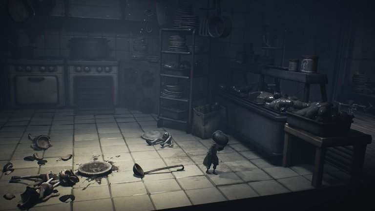 Little Nightmares II Game guide - Move through the cafeteria