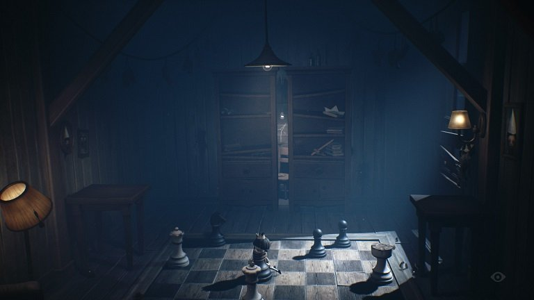 Little Nightmares II Game guide - Put the chess pieces on the correct squares