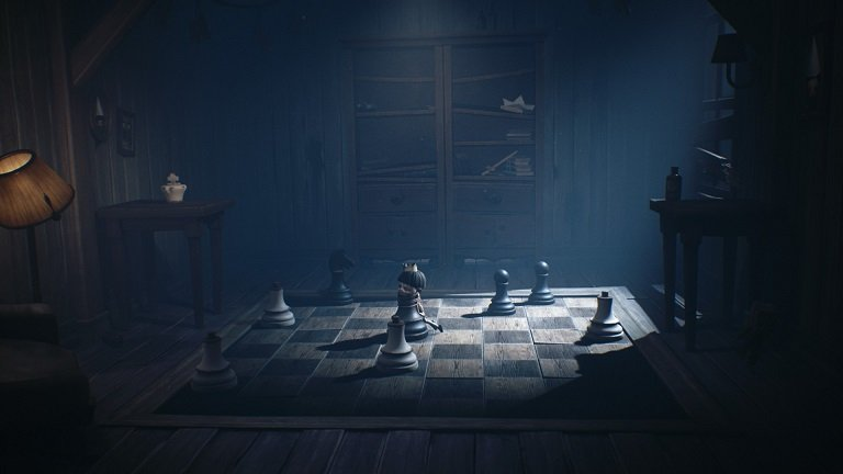 Little Nightmares II Game guide - There is a chessboard behind the door with a lock