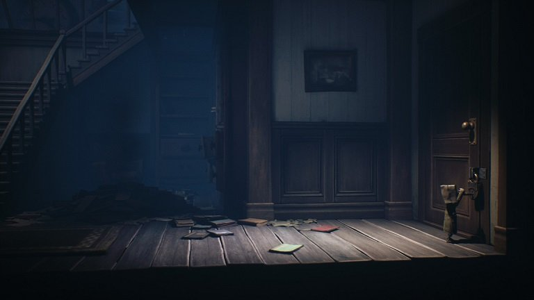 Little Nightmares II Game guide - Use the key to open the door