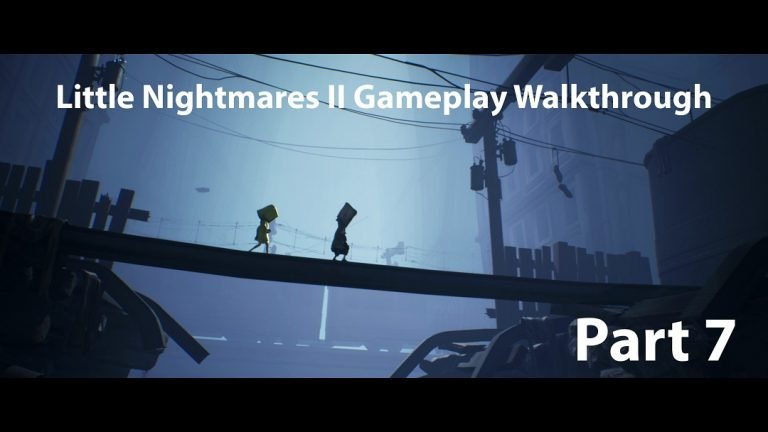 Little Nightmares II Gameplay Walkthrough Part Seven – No Commentary