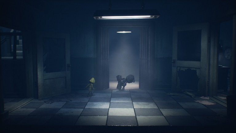 Little Nightmares II Hospital Walkthrough Guide – Grab the bunny and take it to elevator