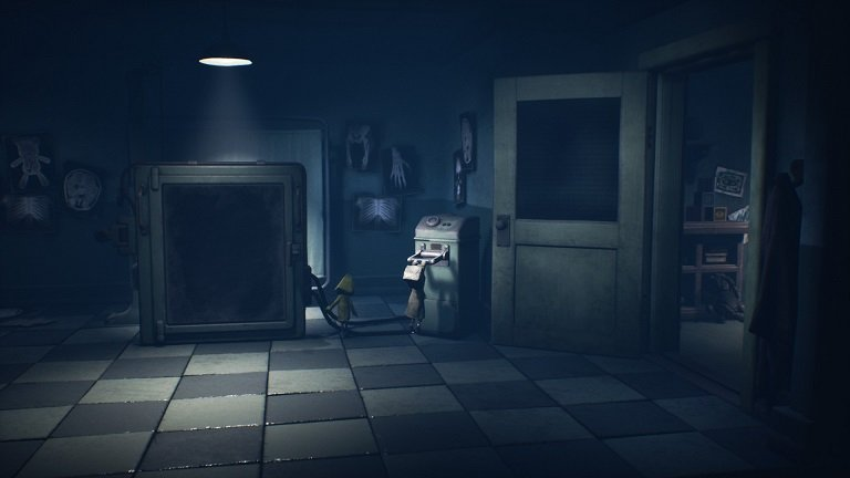 Little Nightmares II Hospital Walkthrough Guide – Move to the right into the X-ray room