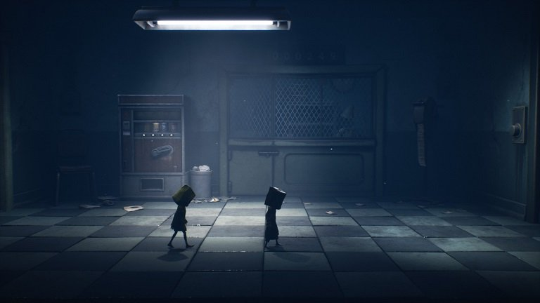 Little Nightmares II Hospital Walkthrough Guide – Room with soda vending machine puzzle