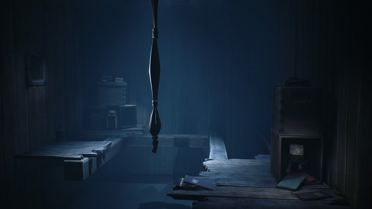 Little Nightmares II game guide - Hide in the blackbox outside the view of the teacher