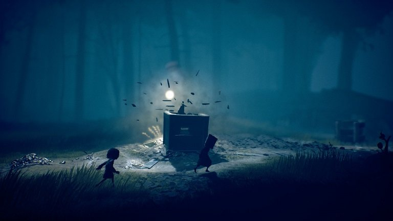 Little Nightmares II game guide - Hunter shoots the box