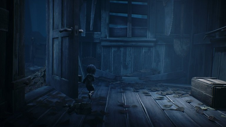 Little Nightmares II game guide - Open the door of a shed