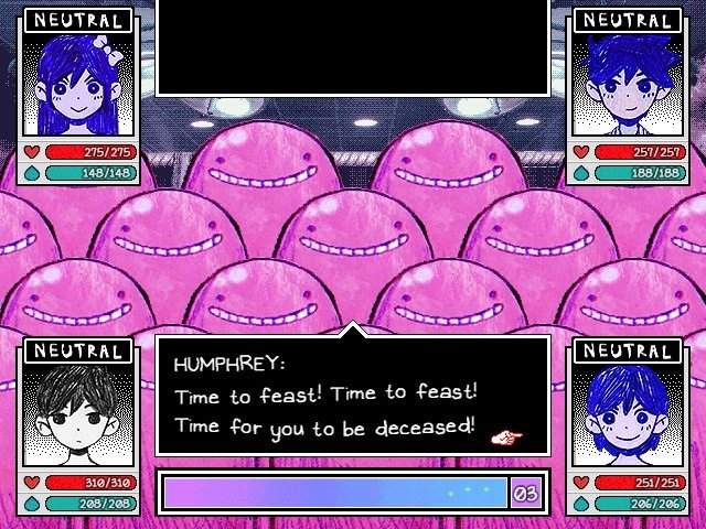 Omori Game Guide - Humphrey - Time to feast Time to feast