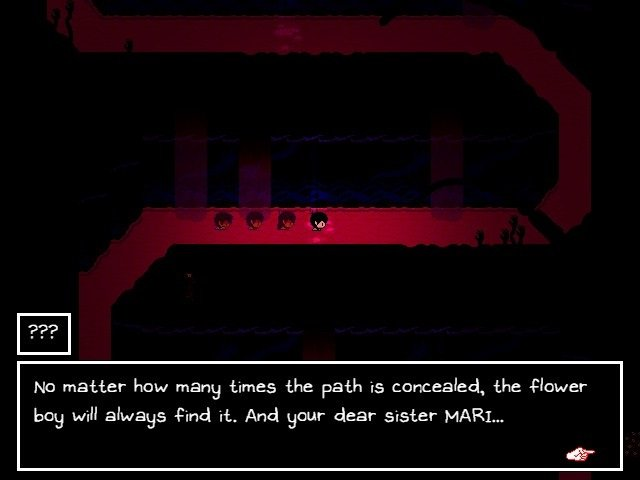 Omori Game Guide - No matter how many times the path is concealed - the flower boy will always find it