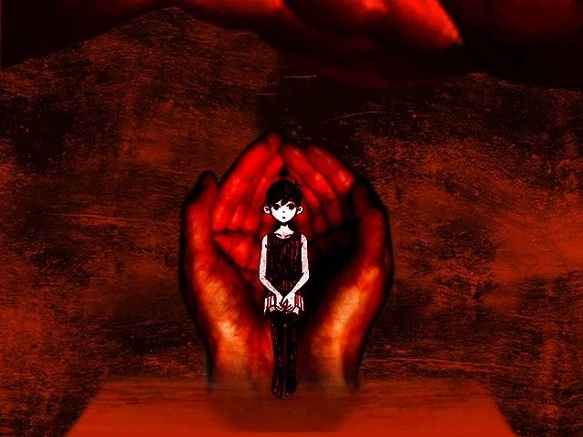 Omori Walkthrough Gameplay Guide - After stabbing into the blood red hands