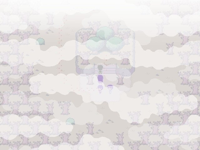 Omori Walkthrough Gameplay Guide - Trees are starting to color grey
