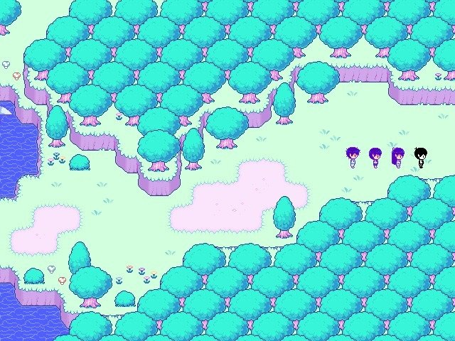The Omori Hikikomori Route - Moving further east in the vast forest