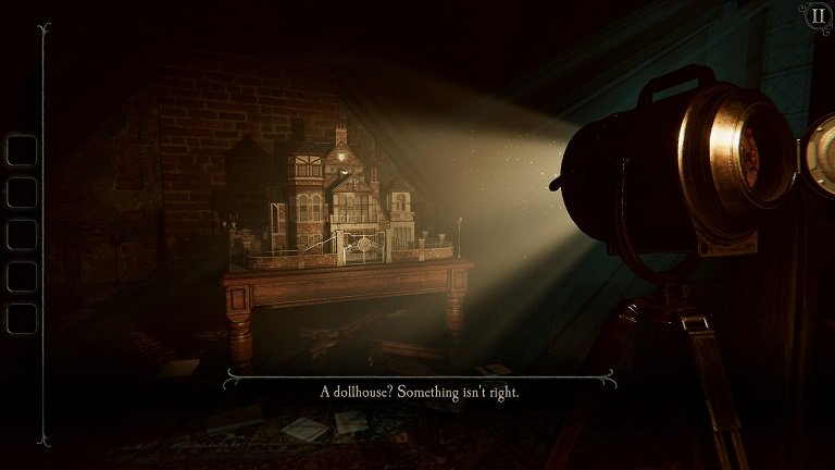 The Room 4 Old Sins Walkthrough Guide - A doll house - Something is not right