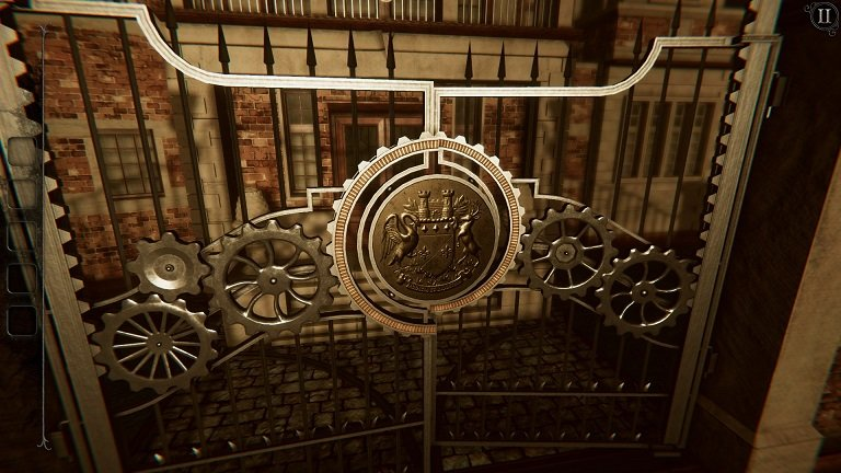 The Room 4 Old Sins Walkthrough Guide - Check the front gate
