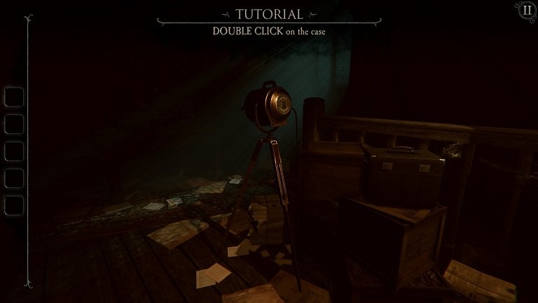 The Room 4 Old Sins Walkthrough Guide - Double click on the case
