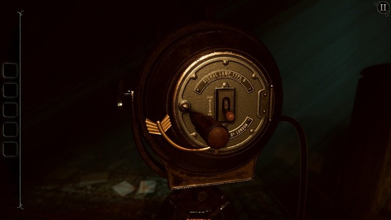 The Room 4 Old Sins Walkthrough Guide - Signal Lamp Type B