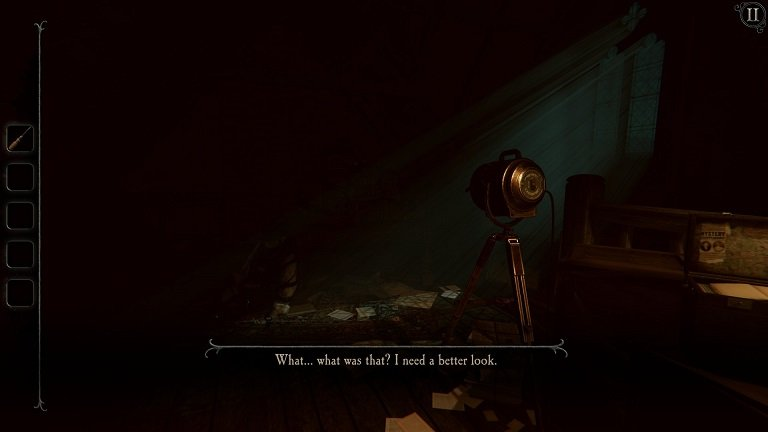 The Room 4 Old Sins Walkthrough Guide - What was that - I need a better look