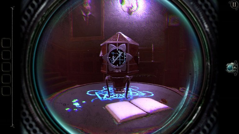 The Room 4 Old Sins game walkthrough - The crest opens up with yet another puzzle