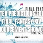 Twitter Predictions For The Final Fantasy XIV Announcement Showcase