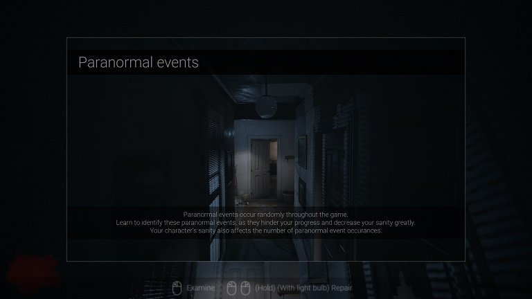 Visage Game Guide - A Paranormal Warning While Walking Through The Corridor To The Right