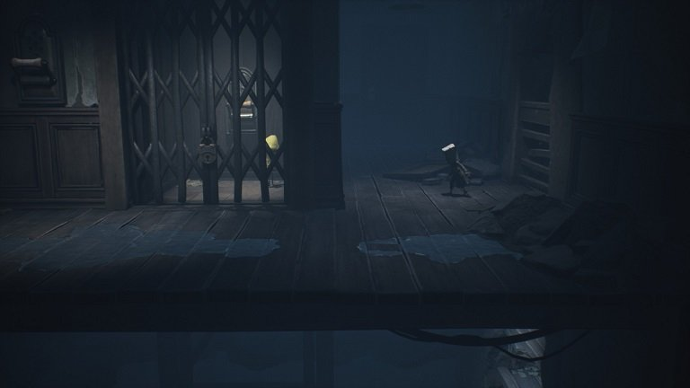 Elevator Puzzle In Little Nightmares II - Six will remain in the elevator