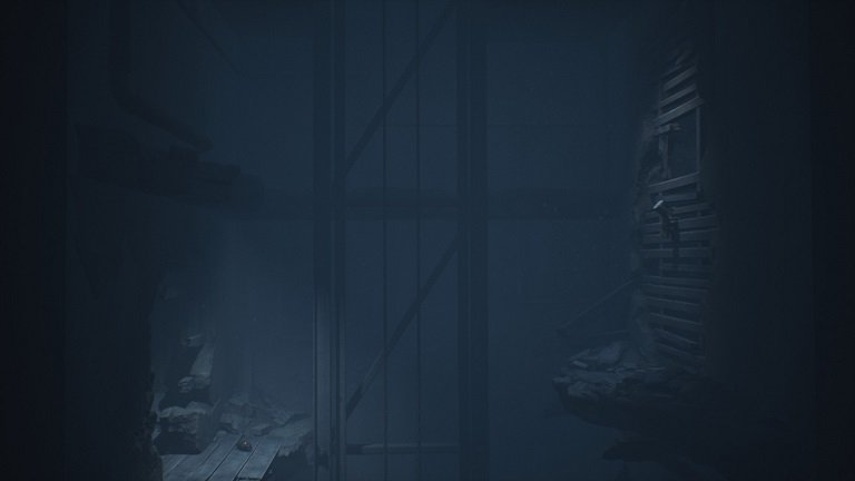 Elevator Puzzle In Little Nightmares II - There is a hole to climb to