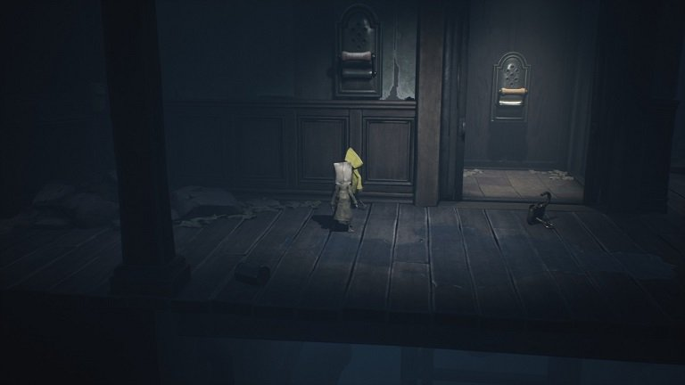 Elevator Puzzle In Little Nightmares II - Unlock with elevator with key to free Six